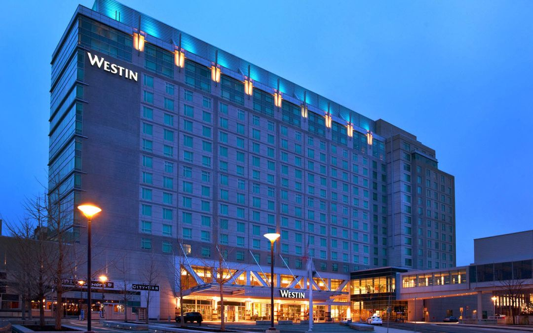 Room block at the Westin Boston Waterfront is 90% full