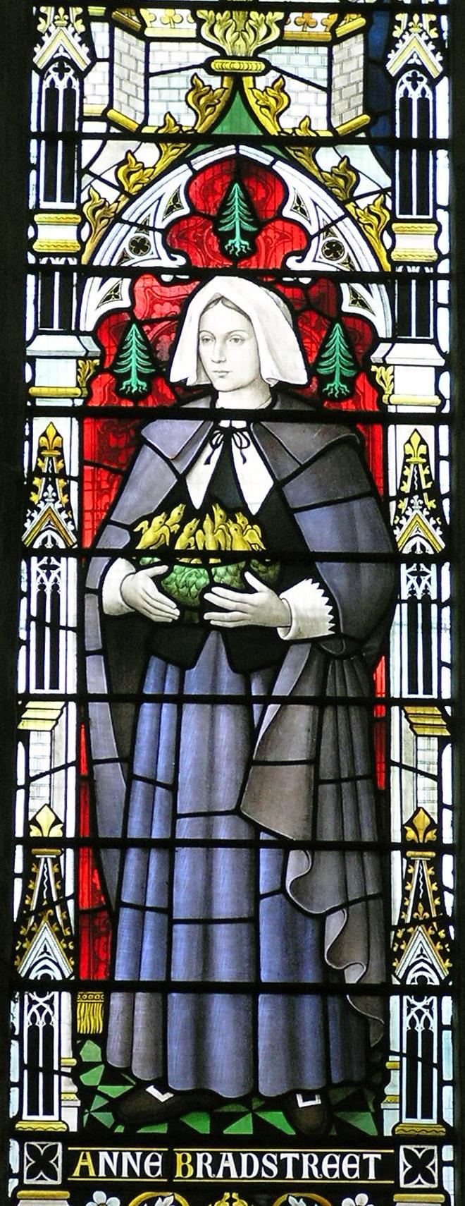 Anne Bradstreet window
