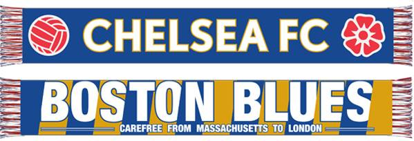 Boston Blues Scarf