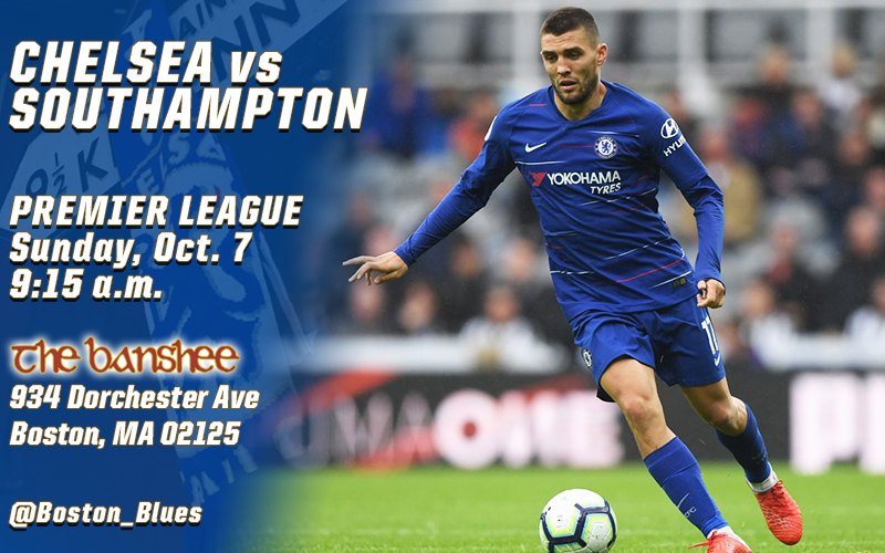 Chelsea vs Southampton_Match Graphic