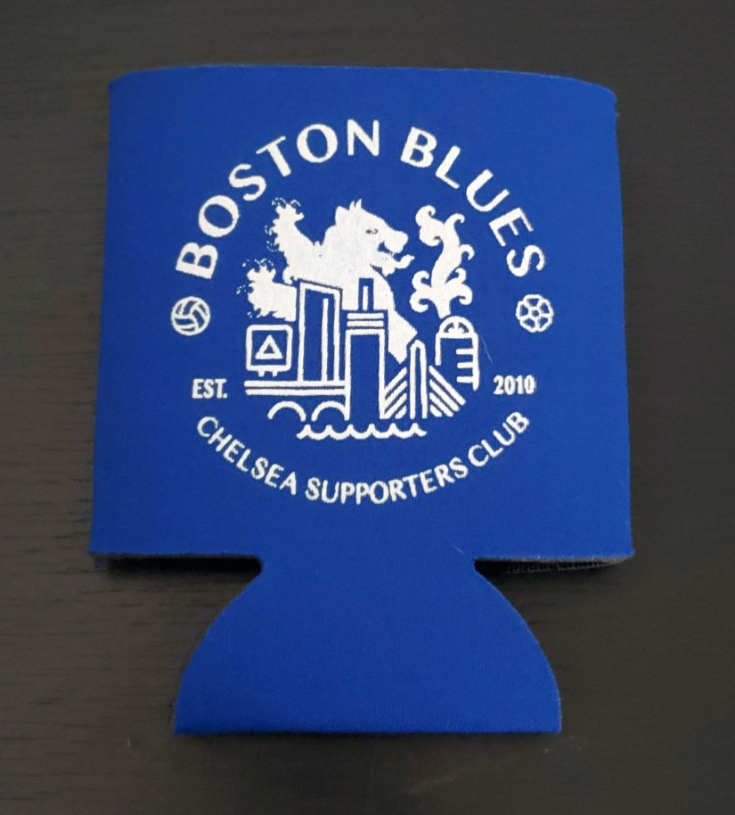 Boston Blues Koozie
