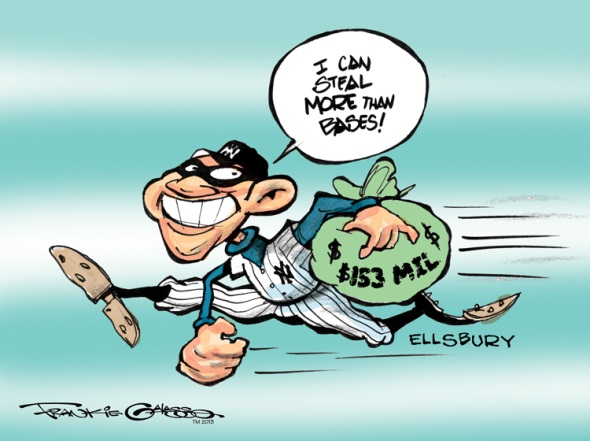 Image result for jacoby ellsbury injury cartoons
