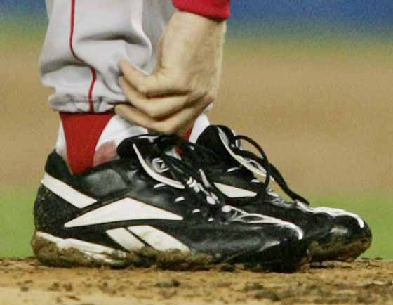 Boston's Curt Schilling (c) Boston Globe