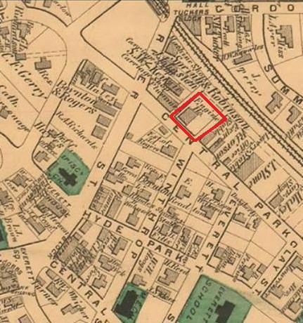 High Park Fire Map.Hyde Park History Before 1912 Boston Fire Historical Society