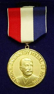 The Patrick J, Kennedy Medal of Honor.