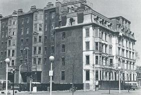 Dartmouth St. side of Hotel Vendome, before the fire, May, 1972.