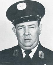 Fire Lieutenant John E. Hanbury.