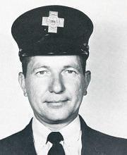Fire Fighter Joseph P. Saniuk.