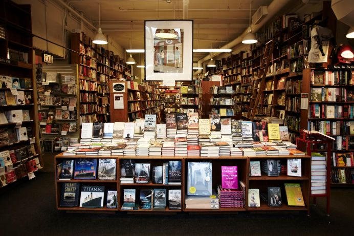 Harvard Book Store hosts big-name authors, sells signed first editions, gives a loyalty discount — and you should read its Twitter feed.