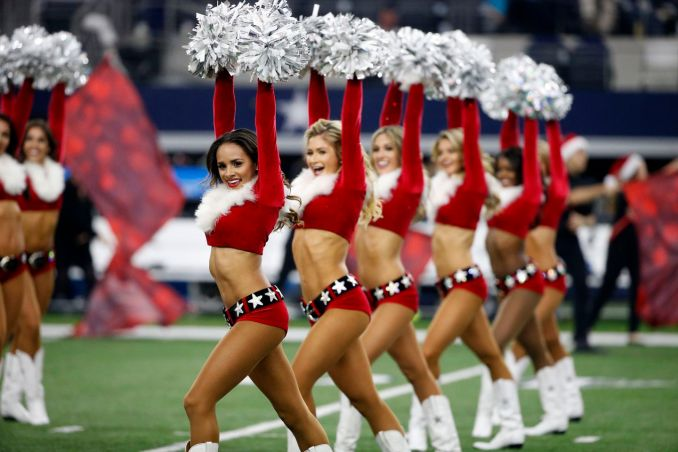 It's time to say goodbye to the NFL cheerleaders - The Boston Globe