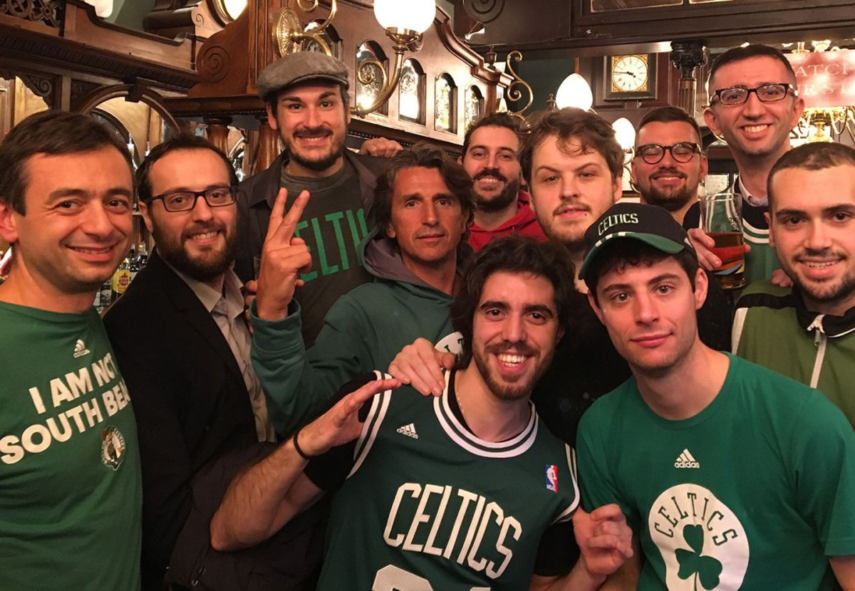 Celtics had a virtual foreign legion of fans in London - The Boston Globe