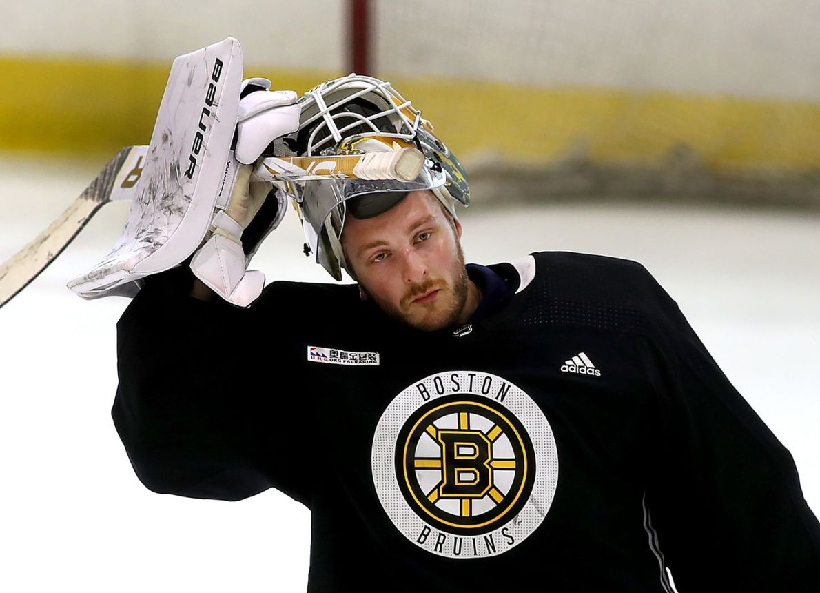 He began playing hockey for fun in a Swedish village. Now, Linus Ullmark is  seriously thinking about a Stanley Cup - The Boston Globe