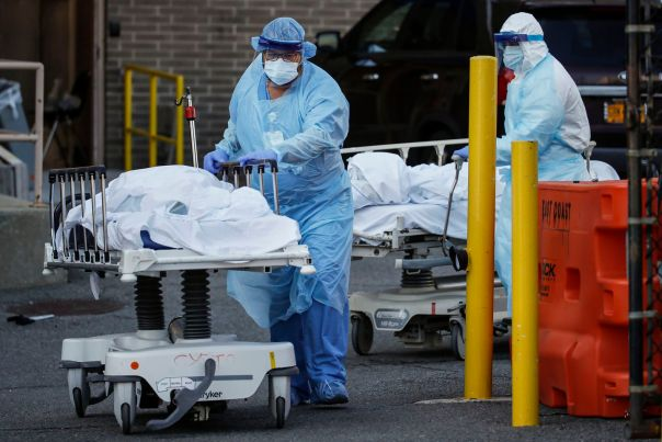 NYC coronavirus deaths outnumber 9/11 death toll; N.Y. records ...