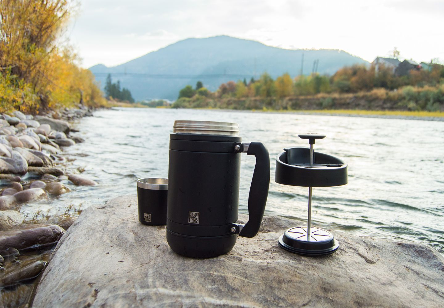 Use Planetary Design's new Basecamp French Press to create your perfect cup of java.