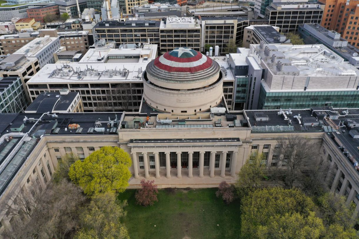 MIT 'hackers' turn Great Dome into Captain America's shield - The ...