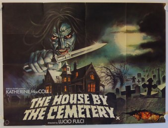 Image result for fulcis the house by the cemetery poster