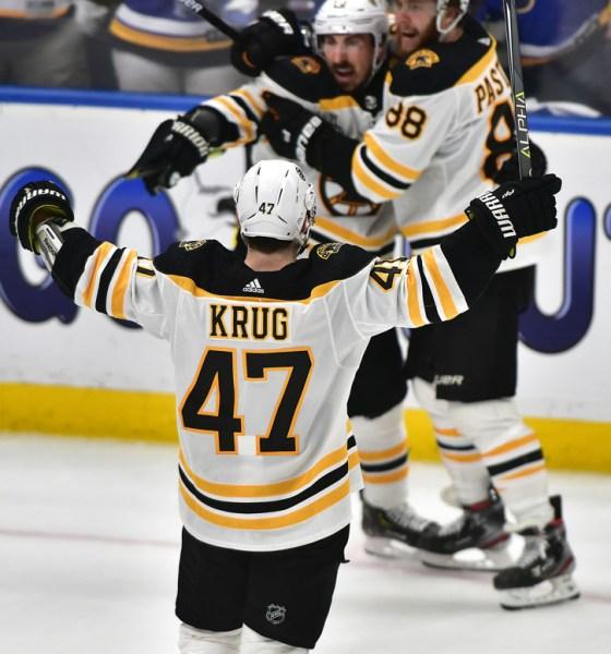 Torey Krug Boston Bruins