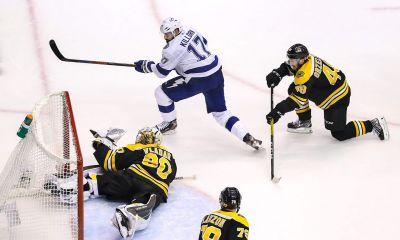Boston Bruins lose Game 3 Vs. Tampa Bay