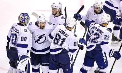 Tampa Bay Lightning beat Boston Bruins