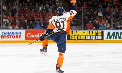 Potential Boston Bruins pick Yevgeni Oksentyuk