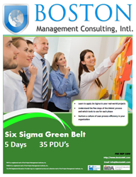Six Sigma Green Belt Training in Dubai, United Arab Emirates