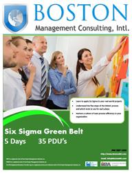 Six Sigma Green Belt Training in Dubai, United Arab Emirates