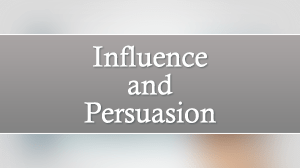 Influence and Persuasion Course in Dubai
