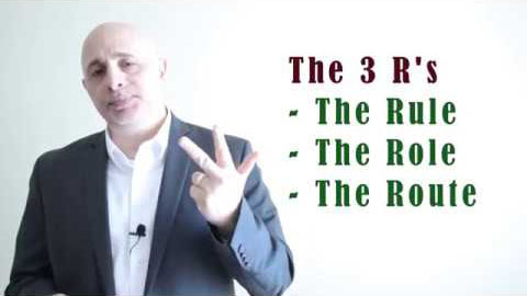 Business Analysis Training Video - Flowcharts using the 3 R's Process