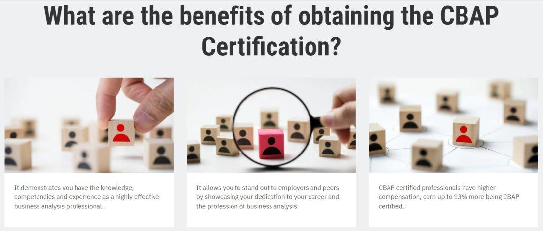 CBAP certification benefits