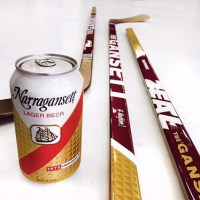 Narragansett Beer Creates Beer League Hockey Stick