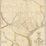 1830 First Edition Of The Austin Map Of Texas The Map Of Texas I Most Prize Streeter Rare Antique Maps