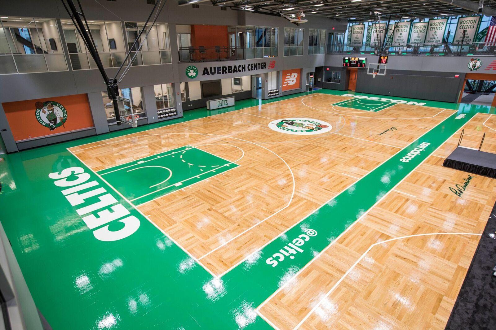 Boston Celtics and New Balance Open
