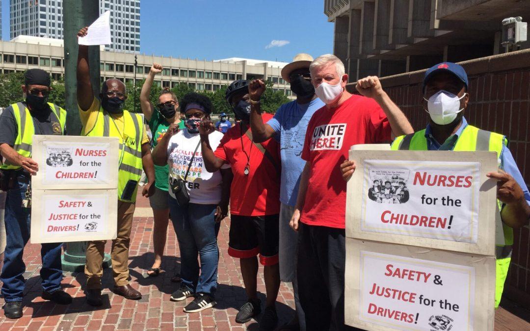 Boston school workers blast 'reopening plans'