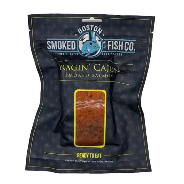 Boston Smoked Fish Co Ragin Cajun Smoked Salmon