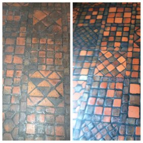 antique tile & grout restoration