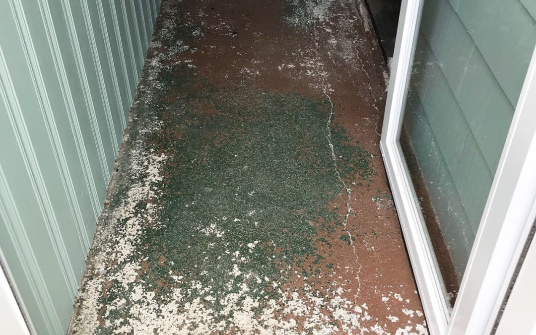 Kintsugi Style Concrete Floor Restoration, Part 1 | Newton,MA