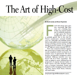 The Art of High-Cost Country Sourcing