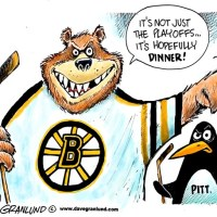The Bruins and The Penguins - a soap opera on ice