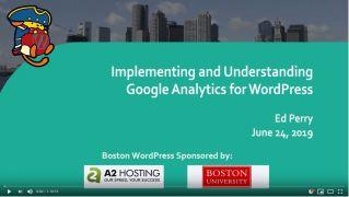 Implementing Google Analytics