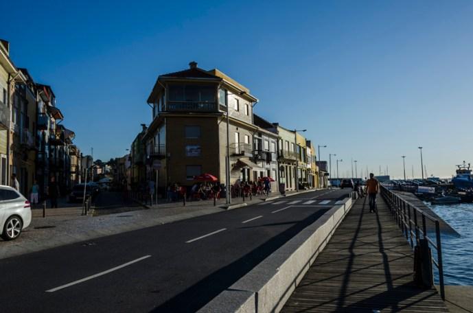 São pedro da Afurada, vista pra rio Douro