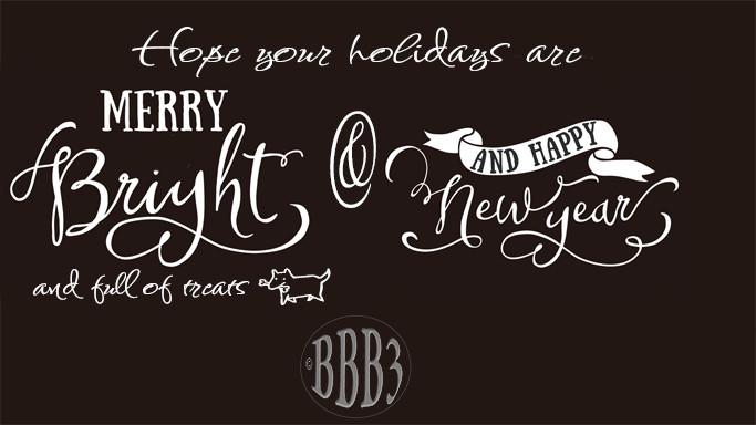 Merry, Bright, Treats, and Joy …Happy New Years