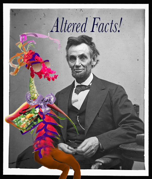 Birdelini and Abe - Altered Facts.