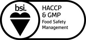 BSI Assurance Mark HACCP and GMP