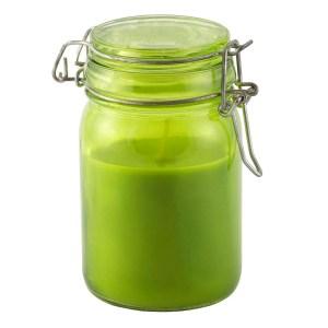 Vela Capim Limão em vidro com fecho – Ref. 2072