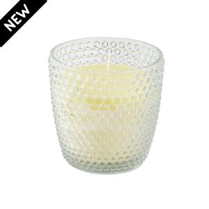 Vela em Vaso Poá 8x9cm – Com 3 opções de cores e aromas