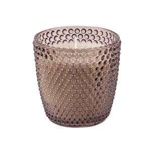 Vela em Vaso Poá 8x9cm – Com 3 opções de cores e aromas – Fumê