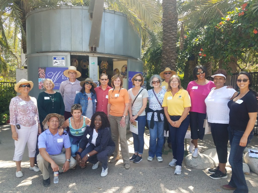Botanicon leads tour of the Water Conservation Garden