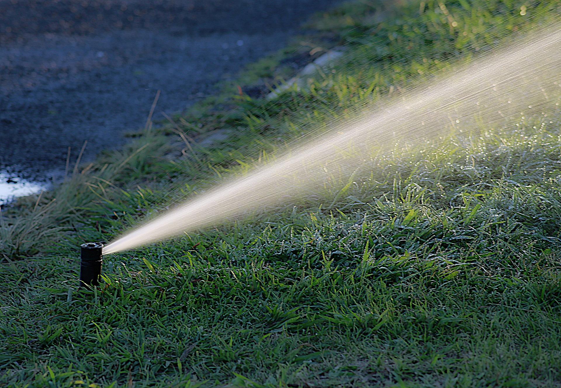 Sprinkler head irrigation