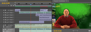 Editing for the virtual studio
