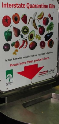 Biosecurity: a reminder not to transport plants and their diseases between states in Australia
